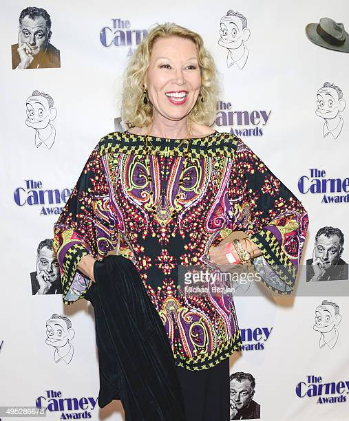 Leslie Easterbrook arrives at Carney Awards Honors Character Actors at The Paley Center for Media on November 1, 2015 in Beverly Hills, California.
