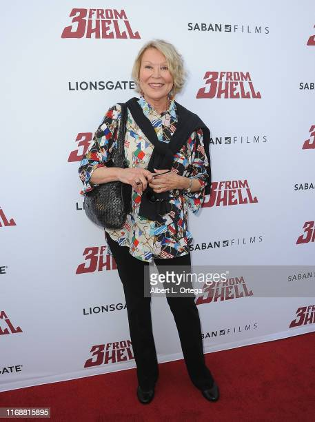 Leslie Easterbrook arrives for the LA Special Screening Of Lionsgate's 3 From Hell held at the Vista Theatre on September 16 2019 in Los Angeles...