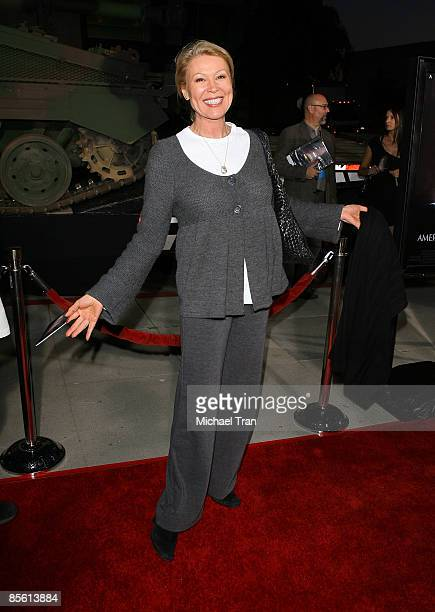 Leslie Easterbrook arrives to the Los Angeles premiere of American Identity held at the Samuel Goldwyn Theater Academy of Motion Picture Arts...