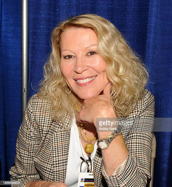 Leslie Easterbrook attends the 2013 Rhode Island Comic Con at Rhode Island Convention Center on November 2, 2013 in Providence, Rhode Island.