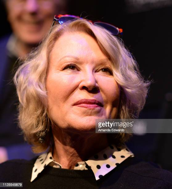 Leslie Easterbrook attends the Laverne Shirley Marathon A Salute To Penny Marshall event at the Garry Marshall Theatre on January 27 2019 in Burbank...