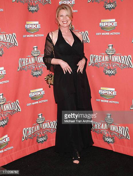 Leslie Easterbrook during Spike TV's Scream Awards 2006 Arrivals at Pantages Theater in Hollywood California United States