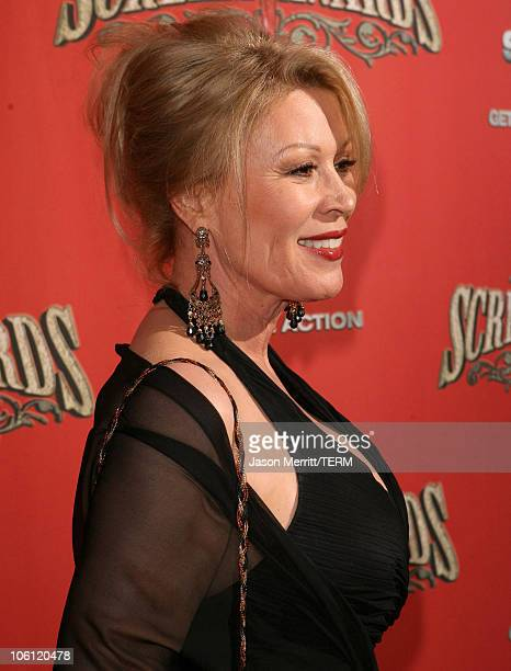 Leslie Easterbrook during Spike TV's Scream Awards 2006 Red Carpet at Pantages Theater in Hollywood California United States