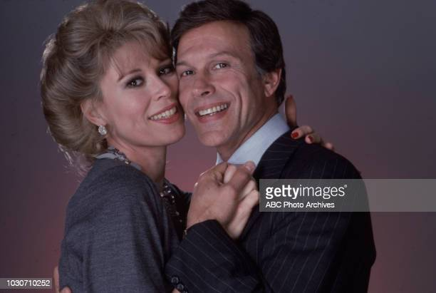 Leslie Easterbrook, Michael Levin promotional photo for the soap opera 'Ryan's Hope'.