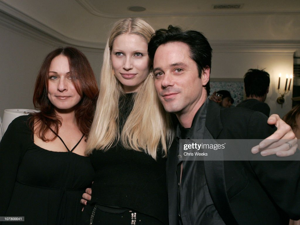Leslie Gardner, Kirsty Hume and Bryan Rabin during Leslie Gardner's Smashing Grandpa Launches New Designs Inspired by 'I'm with the Band: Confessions of a Groupie' by Pamela Des Barres at Chateau Marmont at Chateau Marmont in West Hollywood, California, United States.