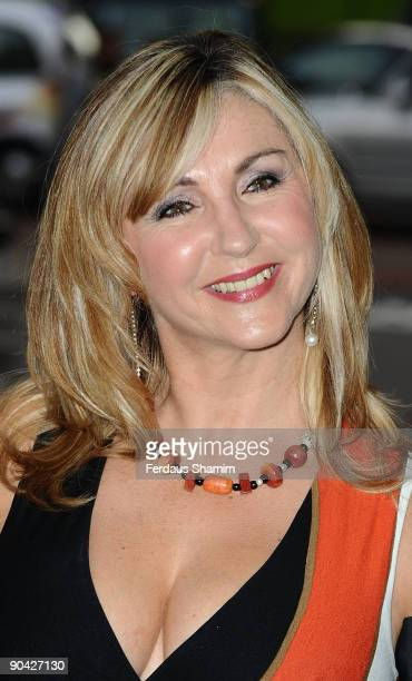 Leslie Garrett attends the TV Quick Tv Choice Awards at the The Dorchester Hotel on September 7 2009 in London England