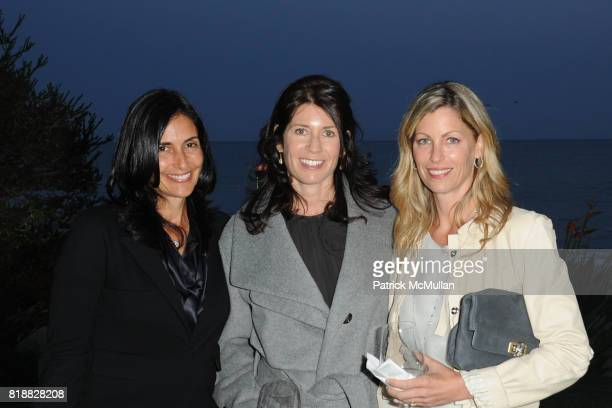 Leslie Gilbert Lurie Nina Quaranta and Amy Gordon attend The 25th Annual LACMA Collectors Committee Weekend An Intimate Dinner at the Home of Jamie...