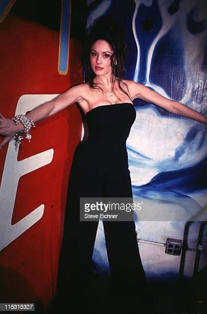 Leslie Glass during Penthouse Pet Video Release Party 1994 at Club USA in New York City New York United States