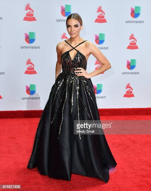 Leslie Grace attends the 18th Annual Latin Grammy Awards at MGM Grand Garden Arena on November 16 2017 in Las Vegas Nevada