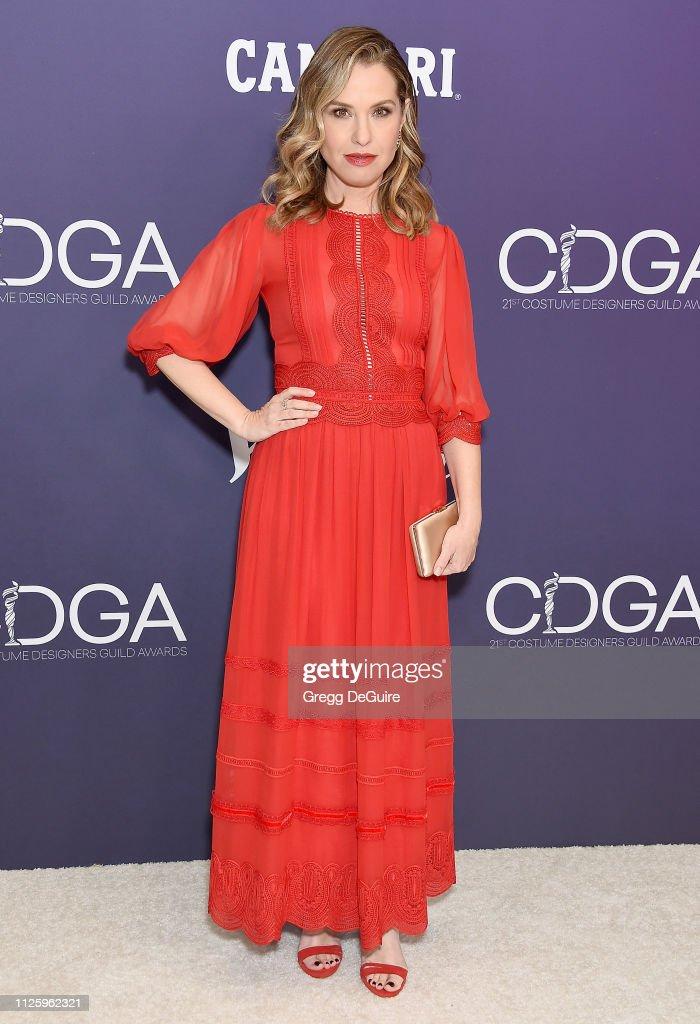 21st CDGA (Costume Designers Guild Awards) - Arrivals : News Photo