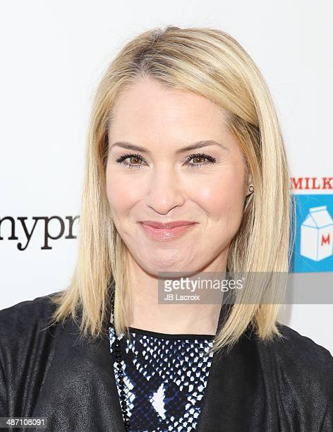 Leslie Grossman attends MILK BOOKIES Fifth Annual Story Time Celebration at Skirball Cultural Center on April 27 2014 in Los Angeles California