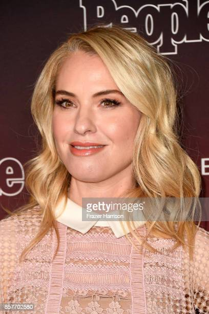Leslie Grossman attends People's 'Ones To Watch' at NeueHouse Hollywood on October 4 2017 in Los Angeles California