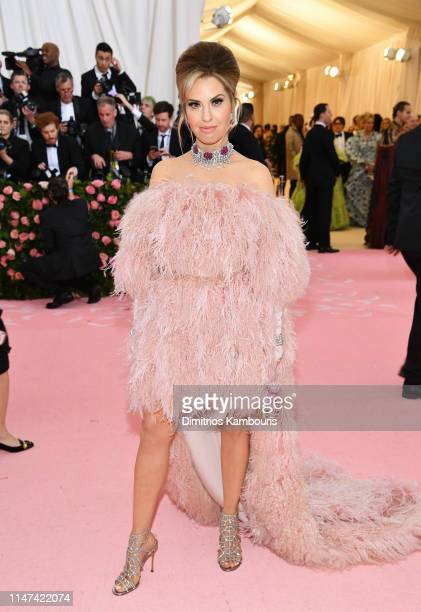 Leslie Grossman attends The 2019 Met Gala Celebrating Camp Notes on Fashion at Metropolitan Museum of Art on May 06 2019 in New York City