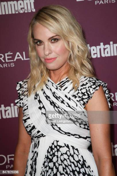 Leslie Grossman attends the Entertainment Weekly's 2017 PreEmmy Party at the Sunset Tower Hotel on September 15 2017 in West Hollywood California