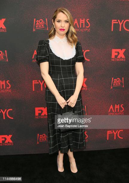 """Leslie Grossman attends the FYC red carpet for FX's """"American Horror Story: Apocalypse"""" at NeueHouse Hollywood on May 18, 2019 in Los Angeles,..."""