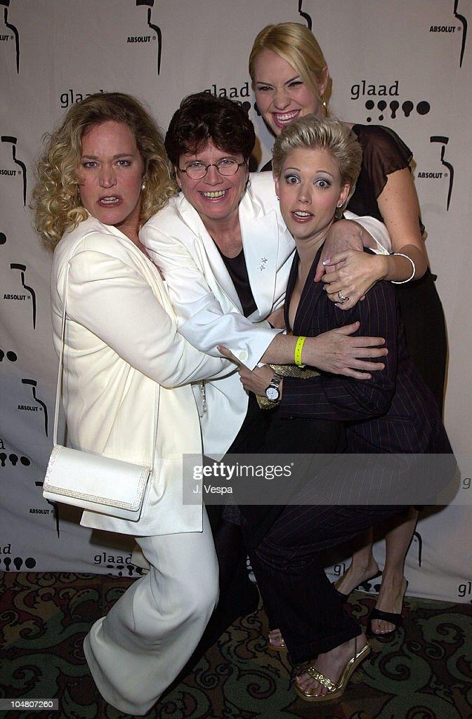 12th GLAAD Media Awards - Arrivals : Nachrichtenfoto