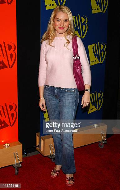 Leslie Grossman during The WB Network's 2004 All Star Party at Hollywood Highland in Hollywood California United States