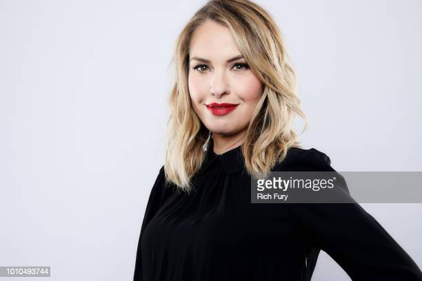 Leslie Grossman of FX's 'American Horror Story Apocalypse' poses for a portrait during the 2018 Summer Television Critics Association Press Tour at...