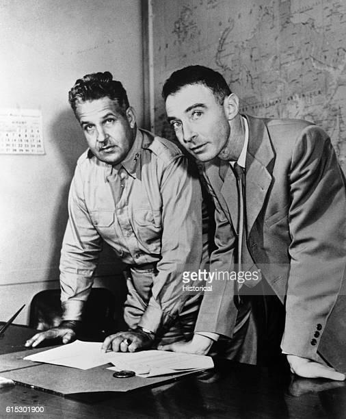 Leslie Groves and Oppenheimer