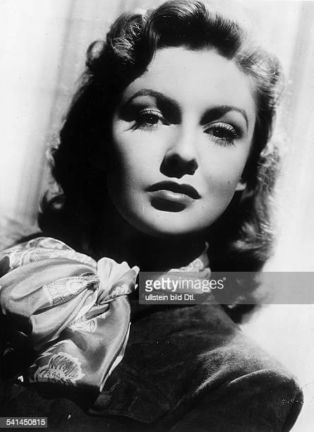 Leslie Joan Actress USA * portrait 1953 Vintage property of ullstein bild