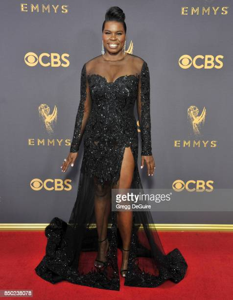 Leslie Jones arrives at the 69th Annual Primetime Emmy Awards at Microsoft Theater on September 17, 2017 in Los Angeles, California.