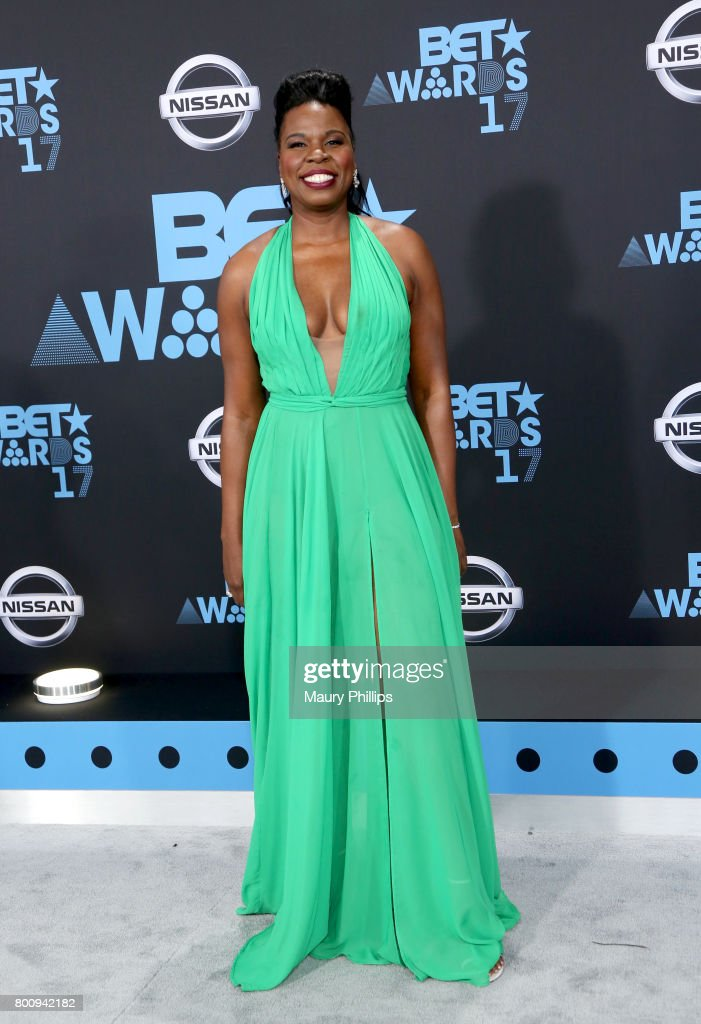 Leslie Jones at the 2017 BET Awards at Microsoft Square on June 25, 2017 in Los Angeles, California.