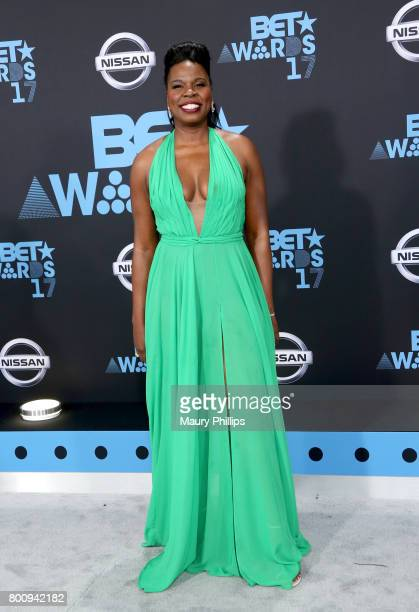 Leslie Jones at the 2017 BET Awards at Microsoft Square on June 25 2017 in Los Angeles California