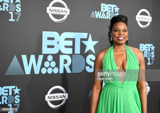 Leslie Jones at the 2017 BET Awards at Staples Center on June 25, 2017 in Los Angeles, California.