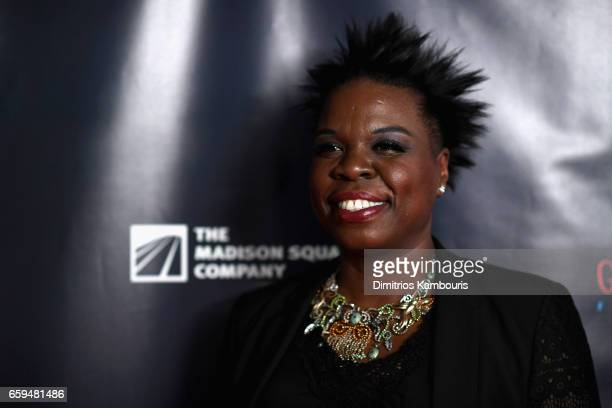 Leslie Jones attends the 2017 Garden Of Laughs Comedy Benefit at The Theater at Madison Square Garden on March 28 2017 in New York City