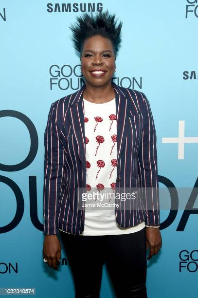 Leslie Jones attends the 2018 GOOD Foundation's Evening of Comedy Music Benefit presented by Samsung Electronics America at Carnegie Hall on...