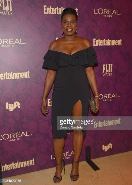 Leslie Jones attends the 2018 PreEmmy Party hosted by Entertainment Weekly and L'Oreal Paris at Sunset Tower on September 15 2018 in Los Angeles...