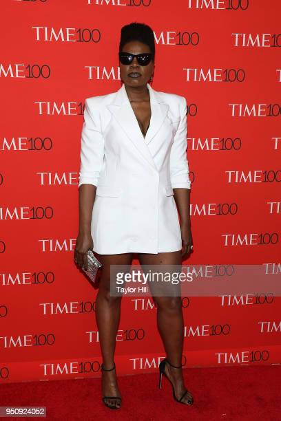 Leslie Jones attends the 2018 Time 100 Gala at Frederick P Rose Hall Jazz at Lincoln Center on April 24 2018 in New York City