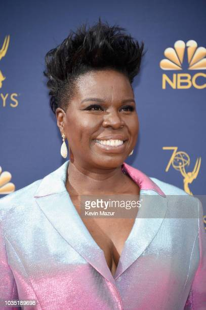 Leslie Jones attends the 70th Emmy Awards at Microsoft Theater on September 17 2018 in Los Angeles California