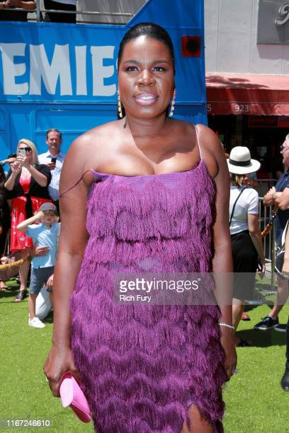 """Leslie Jones attends the Premiere of Sony's """"The Angry Birds Movie 2"""" on August 10, 2019 in Los Angeles, California."""