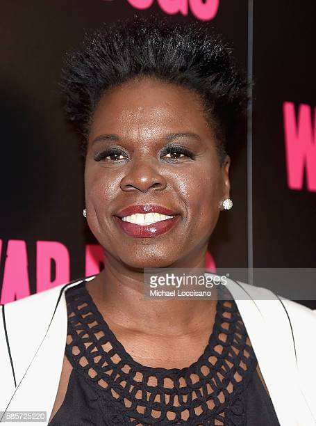 Leslie Jones attends the War Dogs New York Premiere at Metrograph on August 3 2016 in New York City