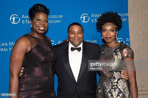 Leslie Jones Kenan Thompson and Sasheer Zamata attend the 2016 American Museum Of Natural History Museum Gala at American Museum of Natural History...