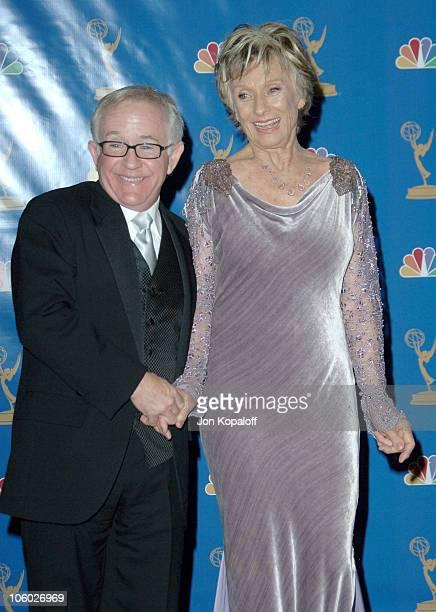 Leslie Jordan and Cloris Leachman presenters during 58th Annual Primetime Emmy Awards Press Room at The Shrine Auditorium in Los Angeles California...