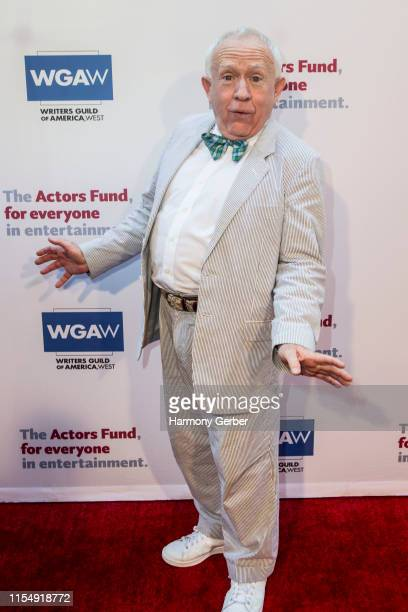 Leslie Jordan arrives at The Actor's Fund 23rd Annual Tony Awards Viewing Gala at Skirball Cultural Center on June 09 2019 in Los Angeles California