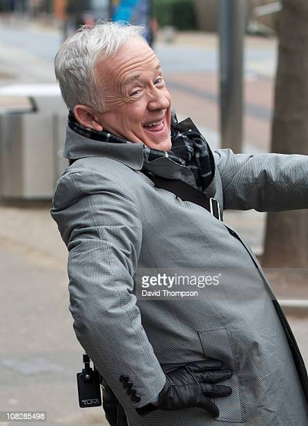 Leslie Jordan sighted after leaving ITV's 'This Morning' studios on January 24 2011 in London England