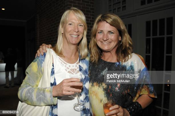Leslie Klotz and Marilyn Heston attend Lee Daniels Film PRECIOUS after Screening Dinner Hosted by Marcia and Richard Mishaan at Marcia and Richard...