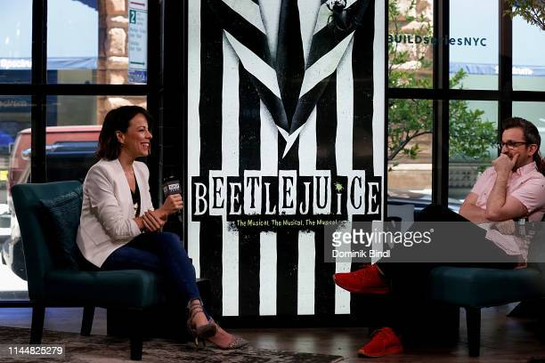 Leslie Kritzer attends the Build Series to discuss 'Beetlejuice the Musical' at Build Studio on April 24 2019 in New York City