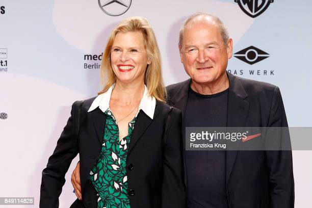 Leslie Malton and Burghart Klaussner attend the First Steps Award 2017 at Stage Theater on September 18 2017 in Berlin Germany