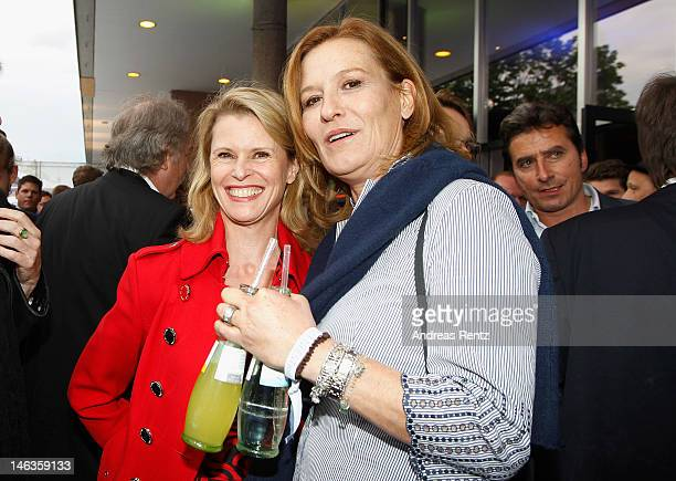 Leslie Malton and Suzanne von Borsody attend the producer party 2012 of the German producers alliance on June 14 2012 in Berlin Germany