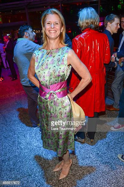 Leslie Malton attends the First Steps Award 2014 at Stage Theater on September 15 2014 in Berlin Germany