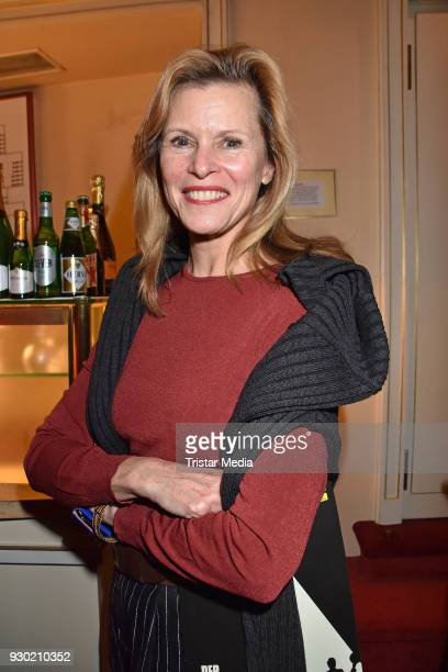 Leslie Malton attends the premiere 'Der Entertainer' on March 10, 2018 in Berlin, Germany.