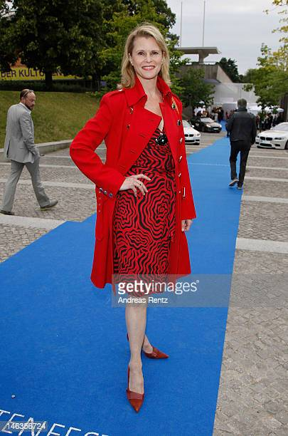 Leslie Malton attends the producer party 2012 of the German producers alliance on June 14 2012 in Berlin Germany