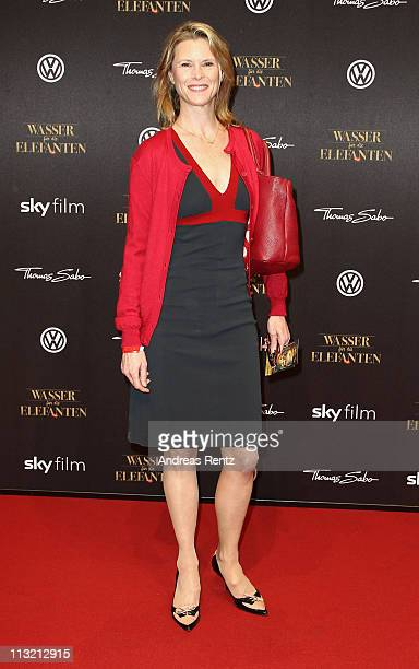 Leslie Malton attends the 'Wasser fuer die Elefanten' Germany premiere at CineStar on April 27, 2011 in Berlin, Germany.