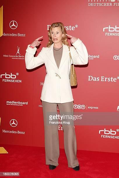 """Leslie Malton Bei Der Nominierungsveranstaltung Zum """"Deutschen Filmpreis"""" Im Hotel Concorde In Berlin Am 110408 ."""