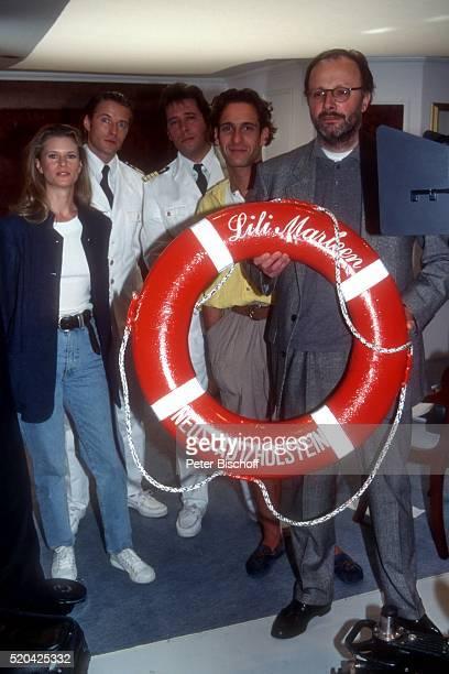 """Leslie Malton, Bruno Eyron, Jan Fedder, Falk Willy Wild, Marco Serafini , Dreharbeiten zur ZDF-Serie """"Inseln unter dem Wind"""", Folge 2 """"Der..."""