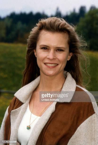 Leslie Malton, in Deutschland lebende amerikanische Schauspielerin, 1995